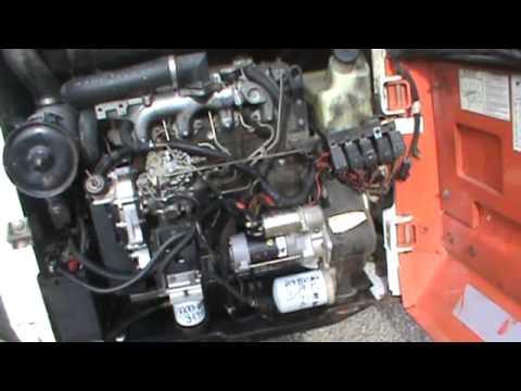 bobcat 743 parts diagram 2004 ford explorer xlt radio wiring 1995 853 843 high flow skid steer loader for isuzu diesel sale - youtube
