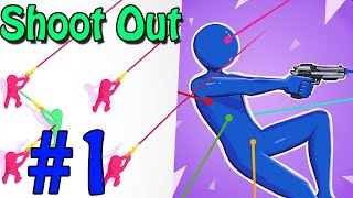 Shoot Out Level 1-15 Gameplay Walkthrough