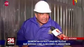 Mesa Redonda: dueños de almacenes clandestinos fueron multados con más de 8 mil soles