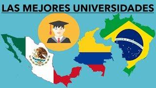 TOP 10 MEJORES UNIVERSIDADES DE AMÉRICA LATINA