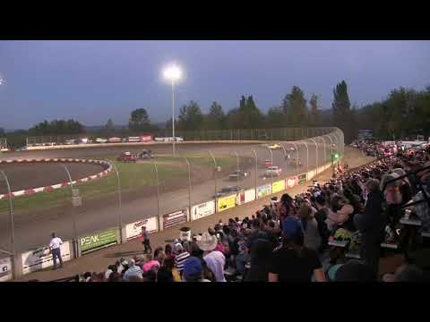 finish of street stock main from may 12,  2018 at Willamette speedway