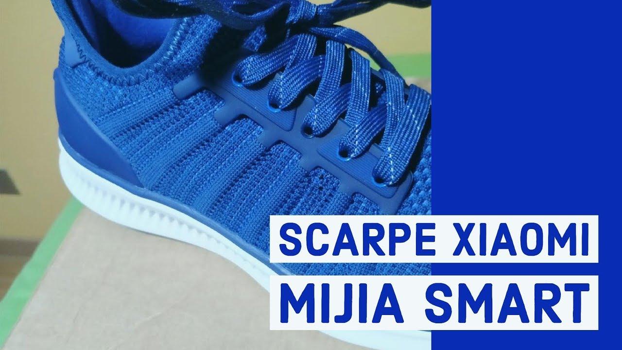 Scarpe Xiaomi Mijia Smart prova in italiano