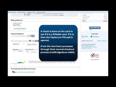 PaySecure Internet PIN Debit - Sears