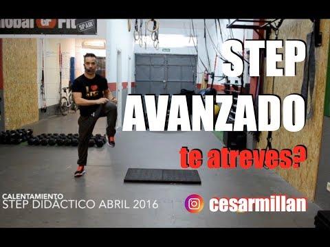 Clase De STEP AVANZADO En Casa Con César Millán - En Marcha Junio 2019
