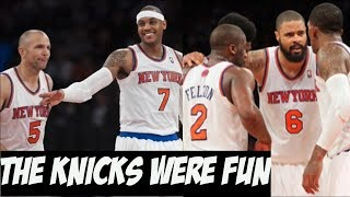 The 2013 New York Knicks - When It Was All Fun