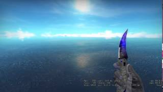 Flip Knife Doppler Phase 4 Showcase and gameplay - CSGO