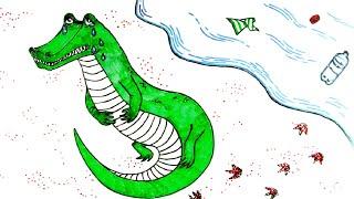 Ювик с планеты Ю - Все серии сразу - сборник 21-26 - развивающий  мультфильм для детей