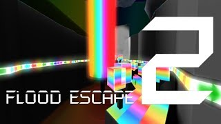 Roblox Flood Escape 2 (Test Map) - Rainbow World (Insane)