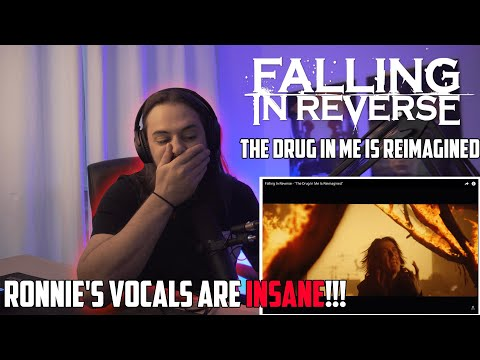 Metal Drummer Reacts to Falling In Reverse   The Drug In Me Is Reimagened  