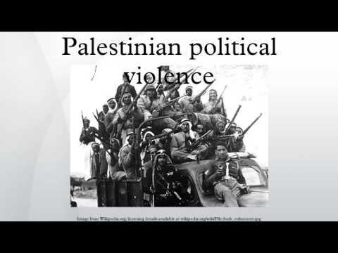 Palestinian political violence