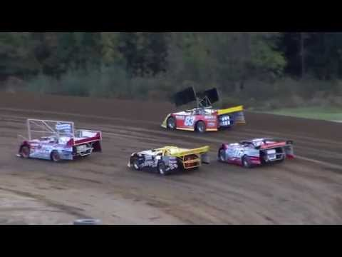 "Dog Hollow Speedway - 10/10/15 Super Late Models ""Run What You Brung"", Heat Race #1"