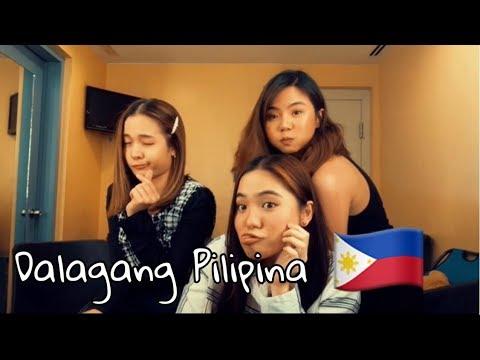 DALAGANG PILIPINA CHALLENGE (w/ Sharlene and Miles) | Kristel Fulgar