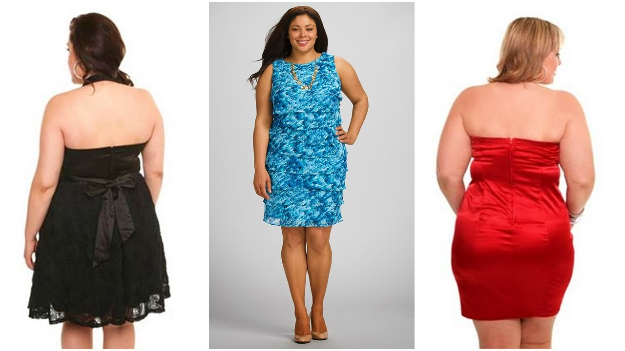 Imagenes de vestidos hermosos para gorditas