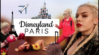 vlog 2 voyage en france disneyland boxing etc