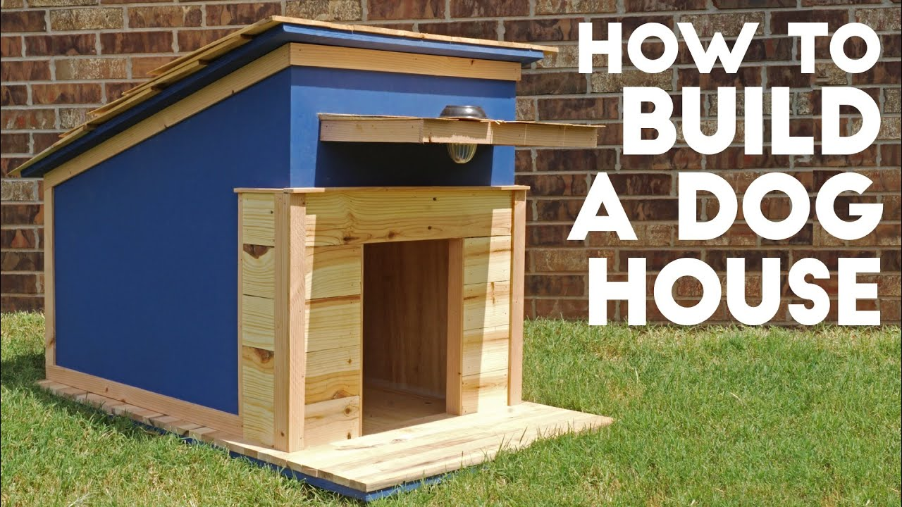 how to build a dog house  modern builds  ep   youtube -