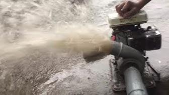 Máy bơm nước Honda mini GX100 (F154) xách tay bơm đồng ruộng