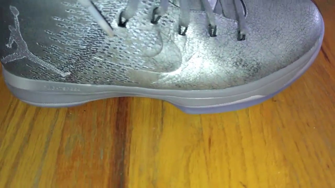 buy online 4798e b0662 Air Jordan 31 Battle Grey review and on foot look - YouTube