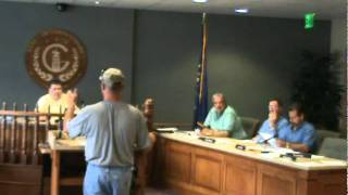 Greensburg IN City Water Board meeting of 9-20-11 part 1 of 1