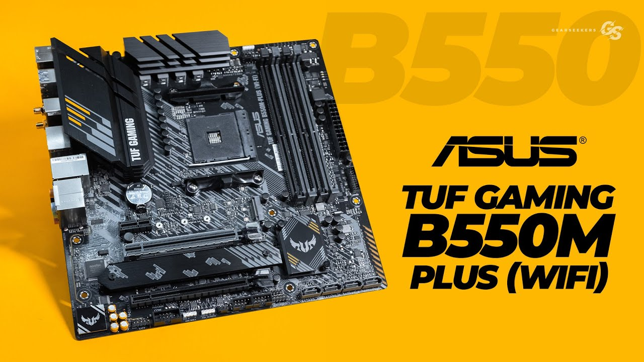 MATX B550 With WiFi - ASUS TUF Gaming B550M Plus Wi-Fi
