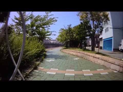自転車車載動画 尼っこリンリンロード 阪神なぎさ回廊