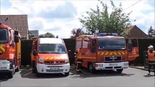 SDIS 59 VSAV VSRM Sapeurs-Pompiers de Steenvoorde