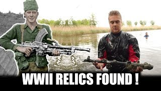 BREN-GUN BARRELS AND MORE WW2 FINDS IN HOLLAND - WATCHDUTCH MD