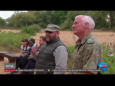 SANParks on anti-poaching drive
