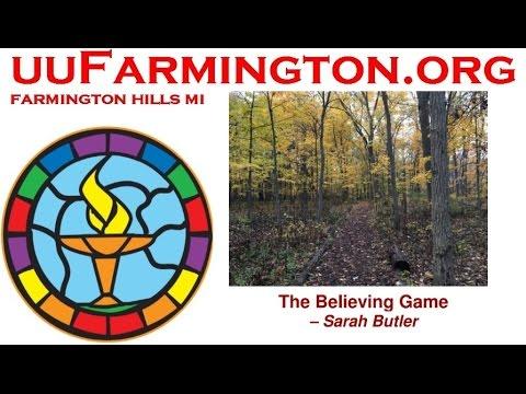 2017-04-02 The Believing Game ~ Sarah Macleod Butler
