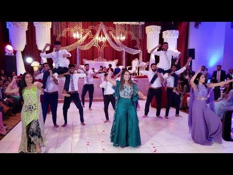BEST SANGEET DANCE PERFORMANCE EVER 2020!! (Sahil And Mehrin - 6/22/19)