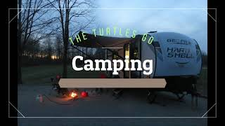 Camping at Taylorsville Ląke State Park KY.