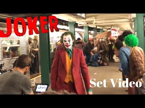 JOKER SUBWAY SET VIDEO!
