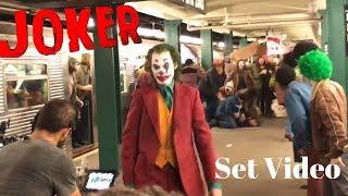 JOKER SUBWAY SET VIDEO!