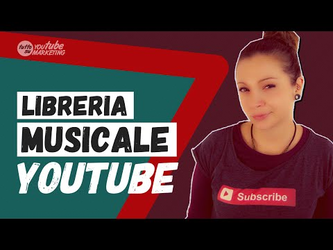 MUSICA GRATIS per i video offerta direttamente da YouTube