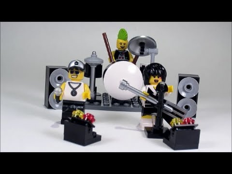 lego rock band minifigure accessory set review 850486 sept. Black Bedroom Furniture Sets. Home Design Ideas