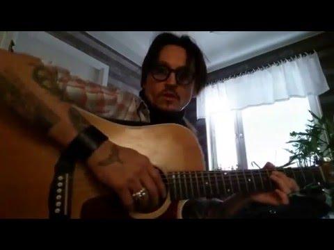 Johnny Depp (1) Double - Radiohead Creep - www.mycelebritydoubles.com