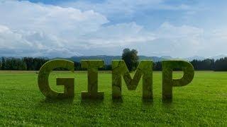 3D GIMP Text With Effects - GIMP 2.8 Tutorial
