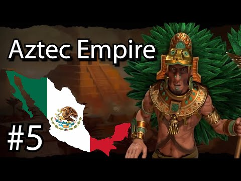 What if Mexico took over the world! (Sid Meier's Civilization 6) Aztec Empire Pt.5 |