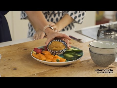 Allerhande kookt met The Green Happiness afl. 4 - zoete-aardappeldip