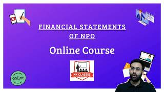 Financial Statements of NPO - Full Chapter | 2021-22 | Online Course
