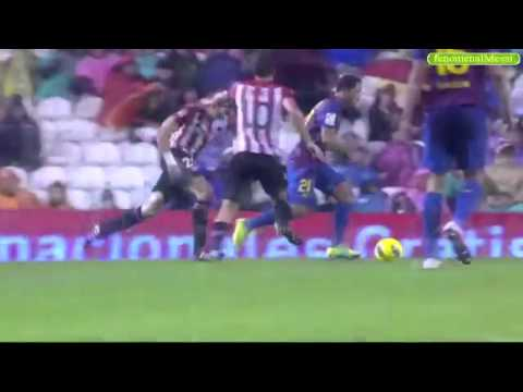 Athletic Bilbao 2-2 Barcelona - Goals & Highlights 6/11/2011