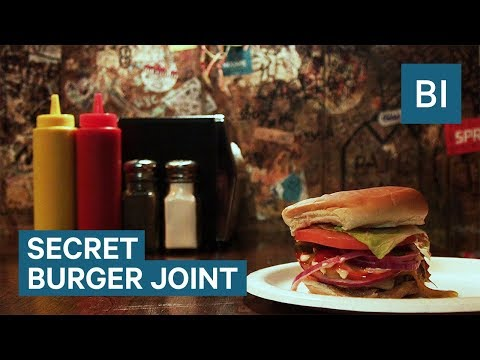 There's a secret 'Burger Joint' inside this swanky NYC hotel