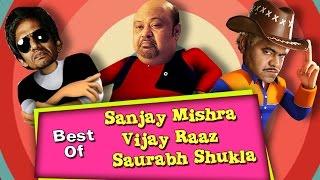 Best of Sanjay Mishra, Vijay Raaz, Saurabh Shukla Comedy Scenes   Journey Bombay To Goa, Hari Puttar