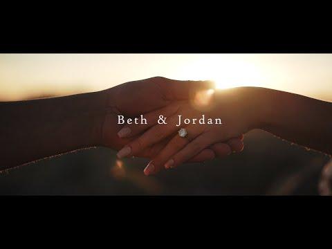 Beth & Jordan's Engagement Film | Lancing Beach, West Sussex