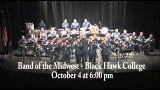 Air National Guard Band of the Midwest Concert at Black Hawk College
