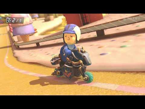Wii U - Mario Kart 8 - Barranco Goloso