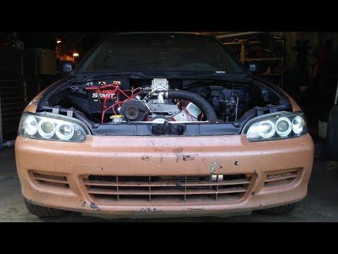 RWD v8 Honda Civic Street car. rear wheel drive civic V8 NEW V