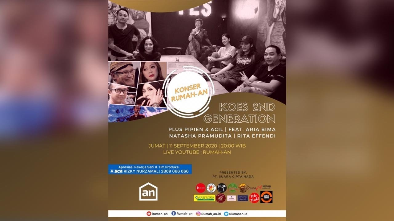 Download 🔴【LIVE】KOES PLUS 2ND GENERATION | KONSER RUMAHAN