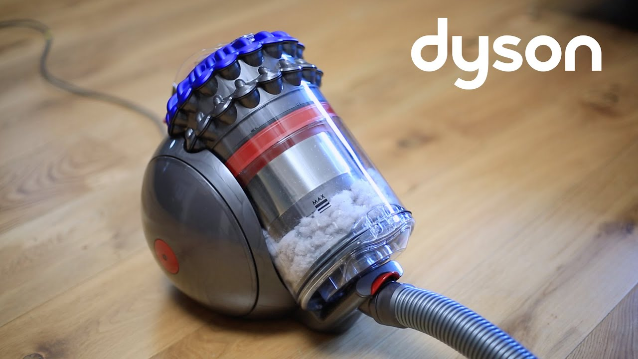 dyson big ball and dyson cinetic big ball cylinder vacuums emptying the bin uk youtube. Black Bedroom Furniture Sets. Home Design Ideas