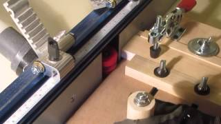 Router Table Rail Coping Sled   Ctj Jigs  For Making Ends Cuts On Rails & Stiles