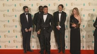 BAFTAs 2014: Brad Pitt on film 12 Years A Slave winning two awards